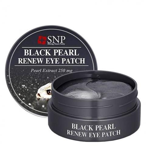 Гидрогелевые патчи для глаз SNP с экстрактом чёрного жемчуга 60 шт