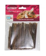 Лакомство для кошек TitBit Кишки бараньи (мягкая упаковка)