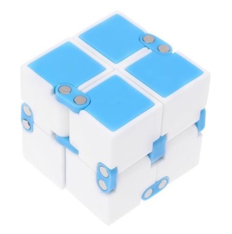 Кубик fidget cube/ Infiniti cube (голубой)