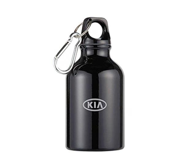 Алюминиевая фляжка с карабином KIA