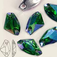 Купить оптом пришивные стразы Emerald AB Galactic