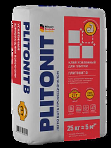 ПЛИТОНИТ B клей усиленный армирующими волокнами для керамической, клинкерной и керамогранитной плитки