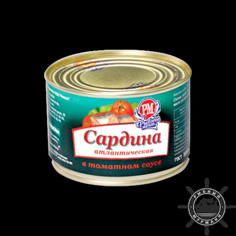 Сардина в томатном соусе, 250 г