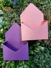 Конверт-кашпо розовый
