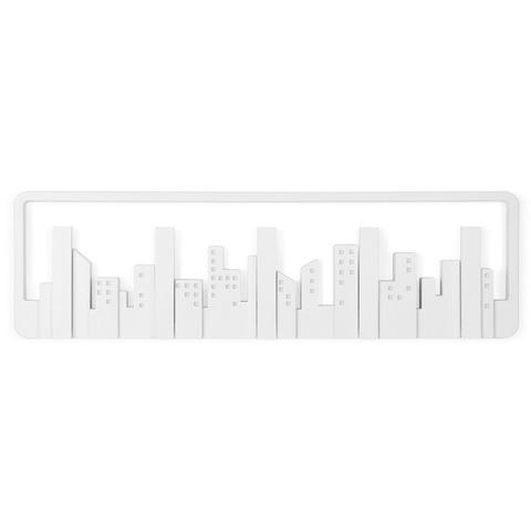 Вешалка настенная Skyline белая