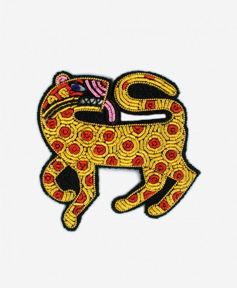 Брошь Leopard