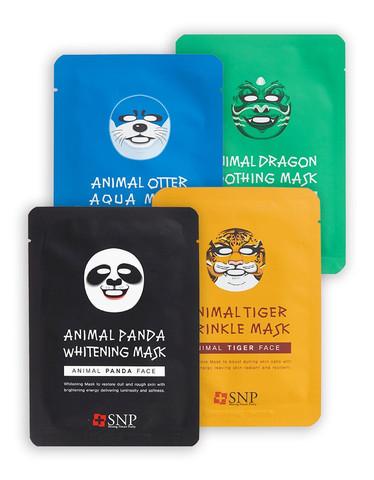 SNP Animal Mask Маски тканевые с животным принтом