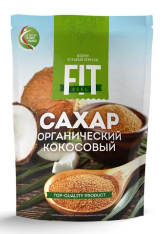 Кокосовый сахар 200г FitFeel