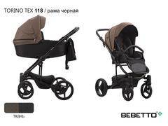 Коляска 3 в 1 Bebetto Torino Tex. 118