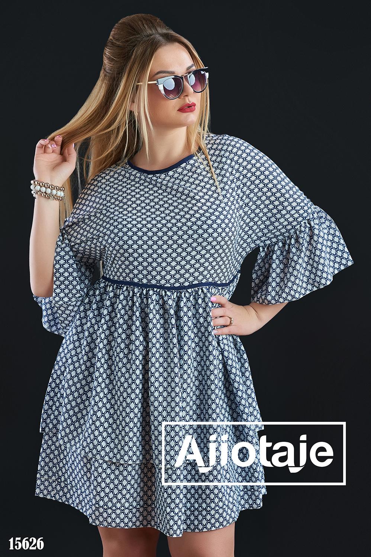 Платье мини в стиле