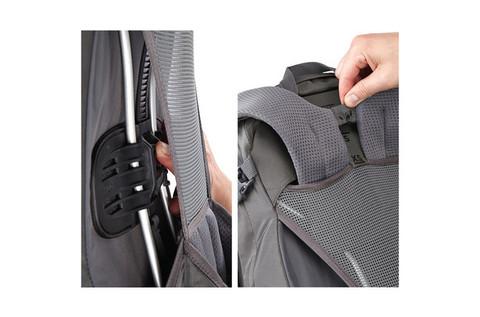 Картинка рюкзак туристический Thule Capstone 50L Тёмно-Серый/Оранжевый - 8