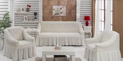 Набор чехлов на трехместный диван и два кресла Priore