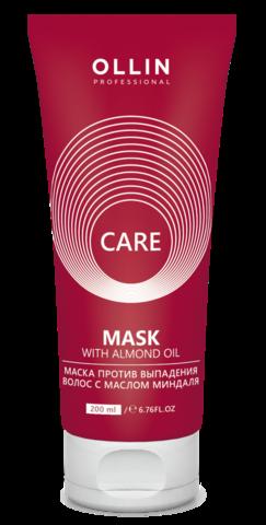 OLLIN care маска против выпадения волос с маслом миндаля 200мл/ almond oil mask