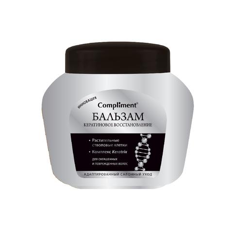Compliment Бальзам  Кератиновое восстановление Для окрашенных и поврежденных волос
