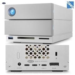 Дисковый массив Lacie 16TB 2big Dock 2-Bay RAID Array Thunderbolt 3 рейд массив