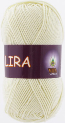 Пряжа Lira (Vita cotton) 5012 Молочный