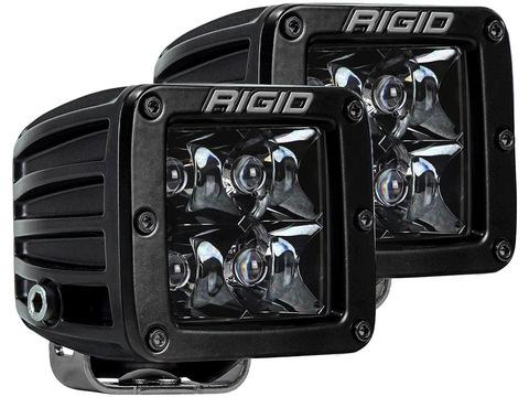 RIGID D-серии PRO Midnight Edition (дальний свет, 4 светодиода, 2 шт)