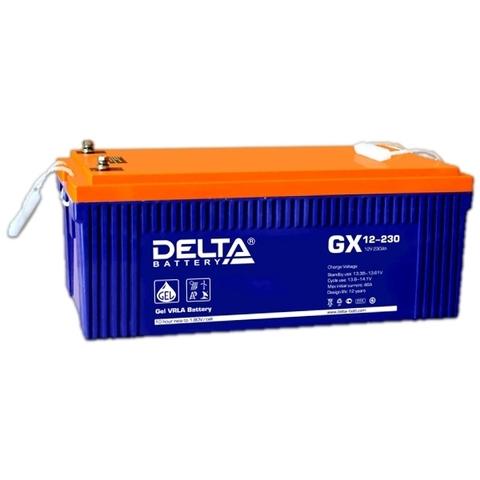 Аккумулятор тяговый DELTA GX 12-230 Xpert
