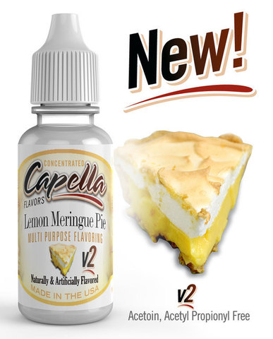 Ароматизатор Capella  Lemon Meringue Pie v2