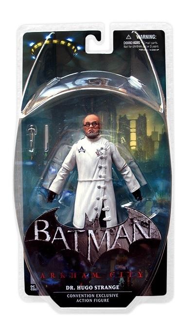 Batman Arkham City SDCC 2013 Dr. Hugo Strange Figure