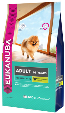 Сухой корм Eukanuba Adult Toy Breed