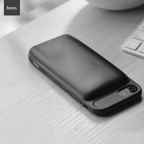 Купить чехол-зарядку для iPhone 7 Hoco BW2 3000mah