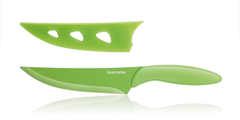 Кухонный нож с непристающим лезвием Tescoma PRESTO TONE 25 см