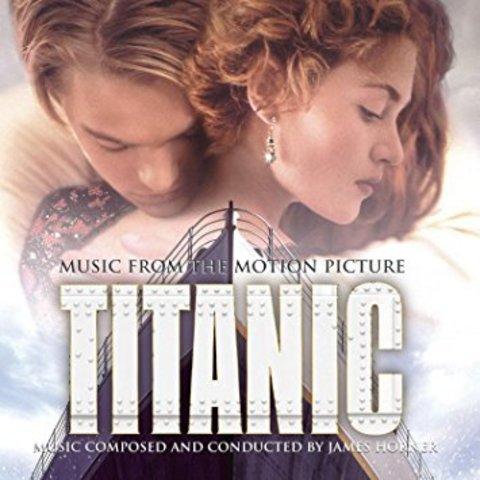 Комплект из 2-х виниловых пластинок. Titanic. Music From The Motion Picture