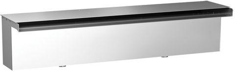 Накрывная крышка излива Film Waterfall Top Cover KW 350.TC (KW-350-TC) из нержавеющей стали 350 мм