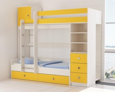 Кровать АТАМИ-1900-0800 /2438*2082*993/ левая