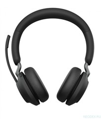 Jabra Evolve2 65 Stereo UC беспроводная гарнитура черная ( 26599-989-999 )