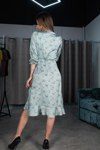 Платье из шелка ниже колена недорого