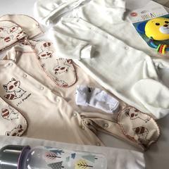 Набор одежды для новорожденных в роддом, универсальный
