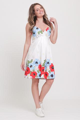 Платье для беременных 10158 белый