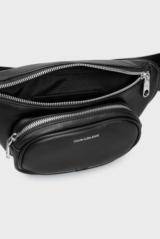 Женская черная поясная сумка Calvin Klein Jeans