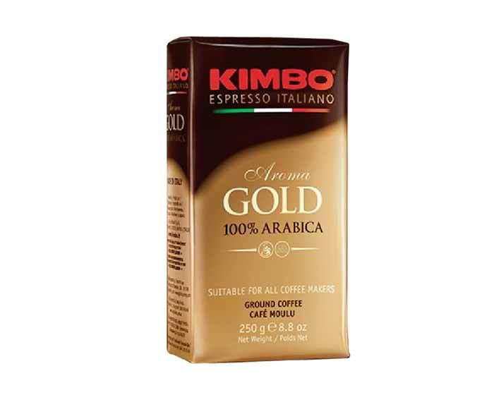 Кофе молотый Kimbo Gold Arabica, 250 г