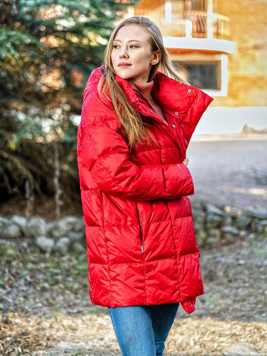 Joutsen Light пуховик Alma красный