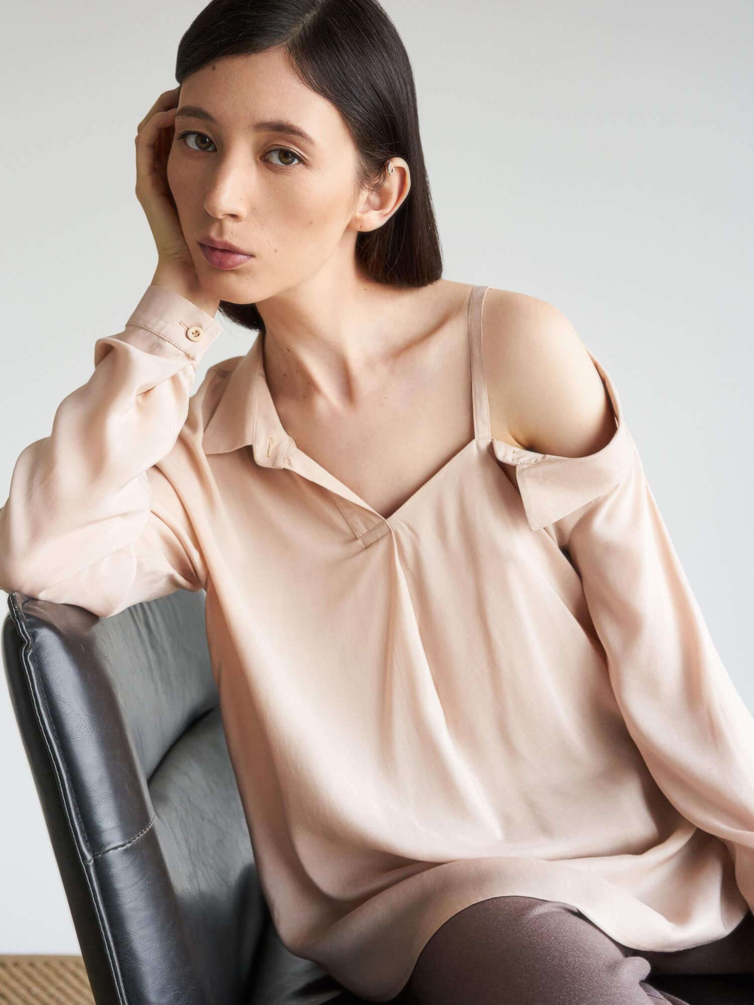 Рубашка Lara с прямой бретелью