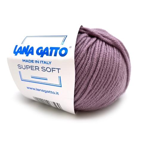 Пряжа Lana Gatto Supersoft 12940 виноградный