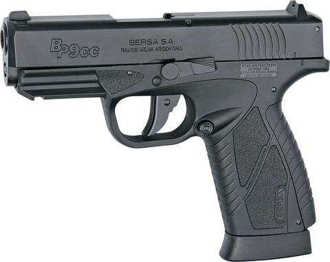 Пистолет пневматический ASG BERSA BP9CC BLOWBACK металл/черный  (артикул 17301)