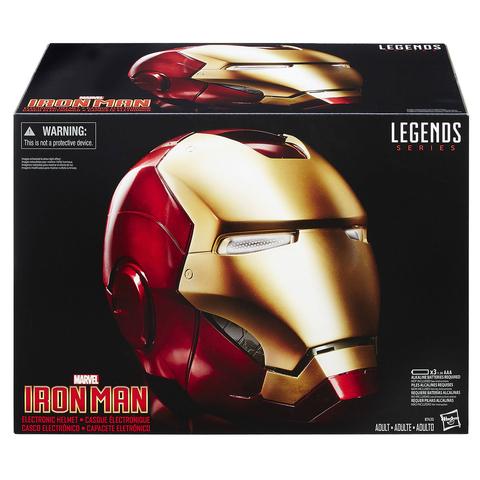 Шлем Железного Человека (реплика) Marvel Legends Iron Man Electronic Helmet