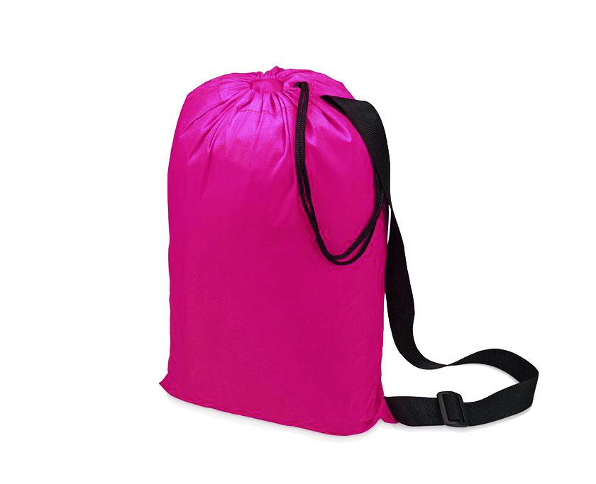 Надувной гамак (ламзак, биван) розовый Фото №2