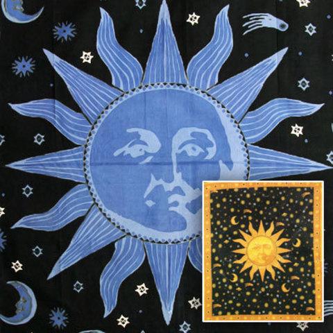 Покрывало Солнце двуспальное