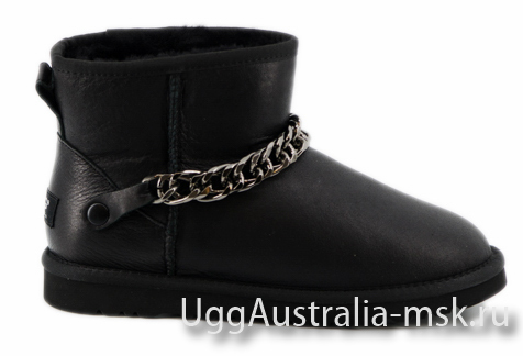 Ugg Zanutti Mini Metallic Black