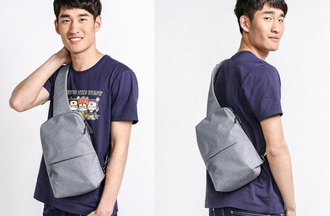 Рюкзак Xiaomi Multi-Function Urban Chest Pack (серый)