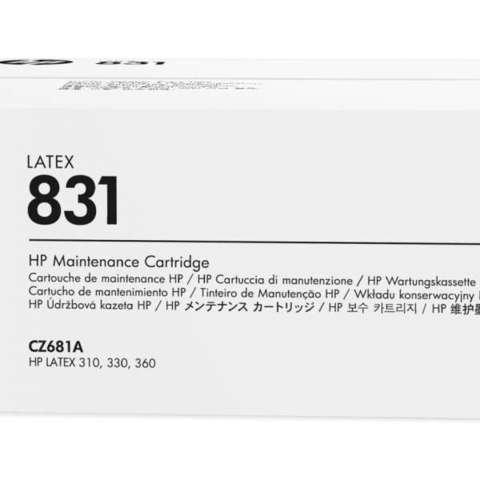 Набор для очистки печатающих головок HP № 831, CZ681A