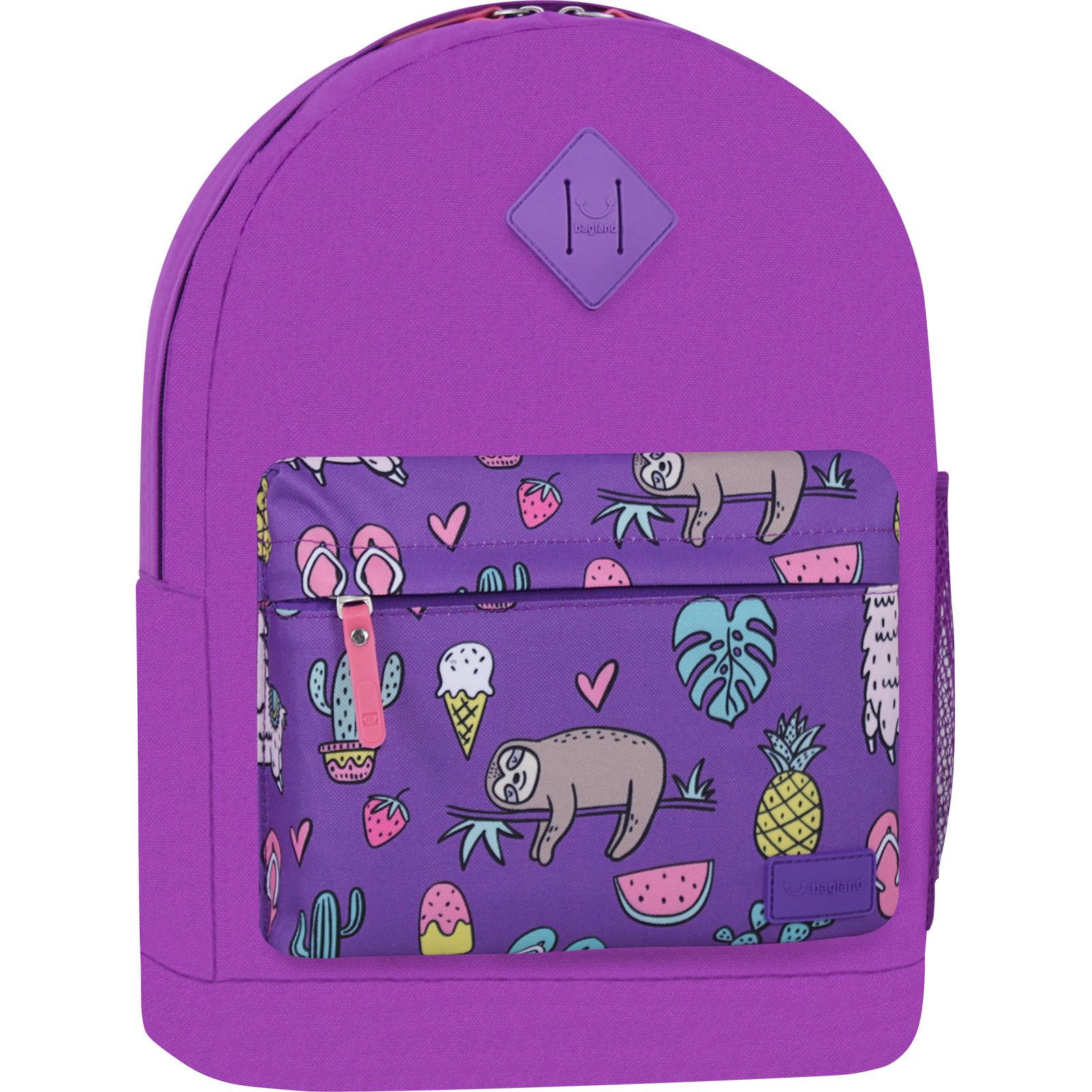 Рюкзак Bagland Молодежный W/R 17 л. 170 Фиолетовый 770 (00533662) фото 1