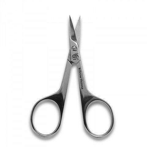 Ножницы серебро BrowXenna, 9,5 см