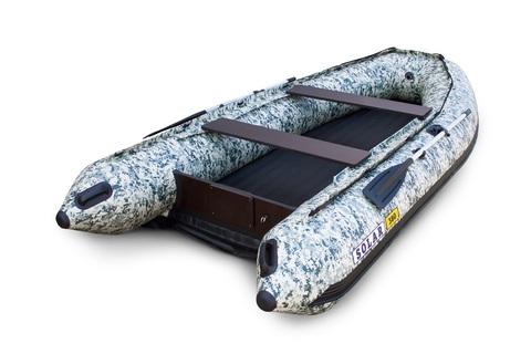 Надувная ПВХ-лодка Солар Максима - 380 (пиксель)