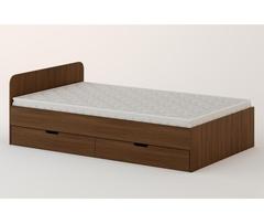 Кровать КР-08 орех темный